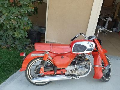 65 Honda Dream 305