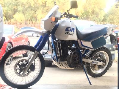 90 Suzuki DR 650 RS (reduced effect)