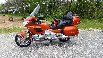 02 Honda GL 1800 Gold Wing