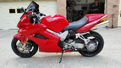 02 Honda VFR 800 FI Interceptor