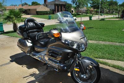 08 Honda Gold Wing Audio Comfort Navi ABS