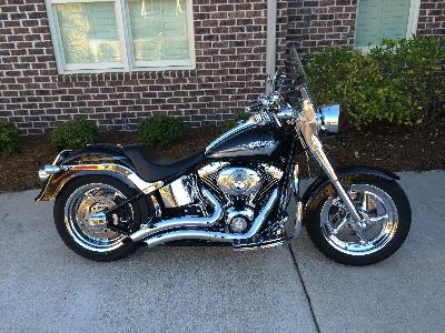 08 Harley-Davidson FLHP Road King Fire Rescue