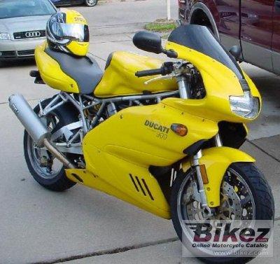 2001 Ducati 900 SS Nuda