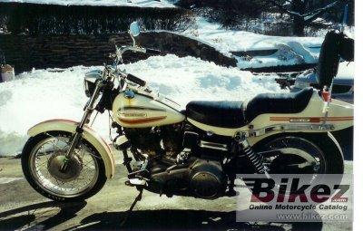 1971 Harley-Davidson FLH 1200 Super Glide