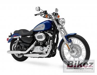2009 Harley-Davidson XL 1200C Sportster 1200 Custom