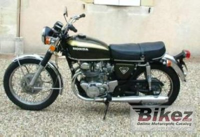 1972 Honda CB 450 disc