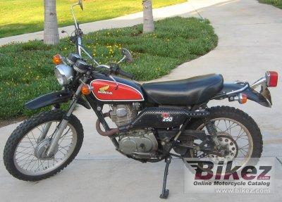 1975 Honda XL 250