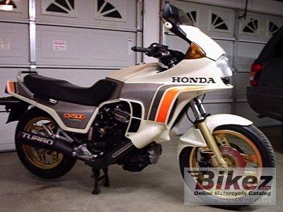 1982 Honda CX 500 Turbo