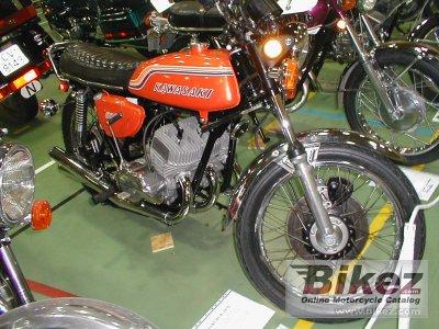 1972 Kawasaki 500 H 1 Mach III
