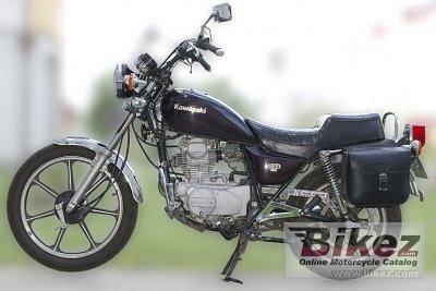 1983 Kawasaki Z 250 LTD Belt Drive
