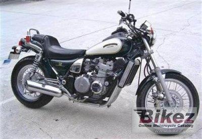 1986 Kawasaki ZL 400 Eliminator