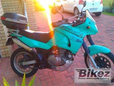 1997 Kawasaki KLE 500