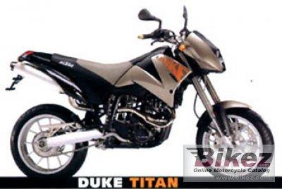 2001 KTM Duke II 640