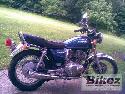 1982 Suzuki GS 450 T