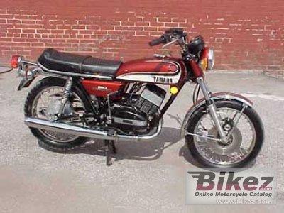 1975 Yamaha RD 350